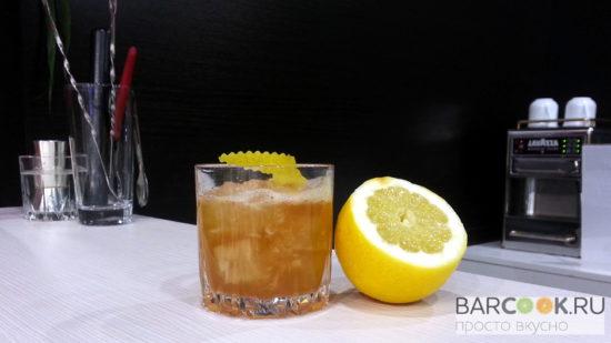 Коктейль Золотая Лихорадка рецепт