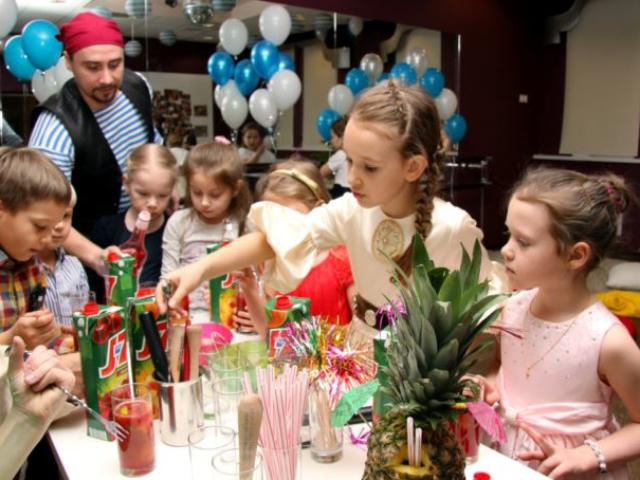 Выездной бар для детей