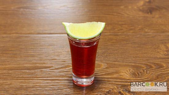 рецепты шотов с бейлисом самбукой коконатом водкой гренадином