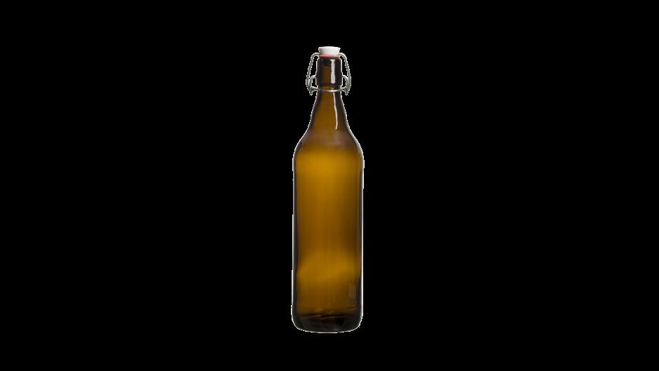 Бутыль с бугельной пробкой