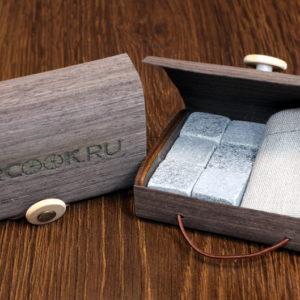 Камни для виски в подарочной упаковке
