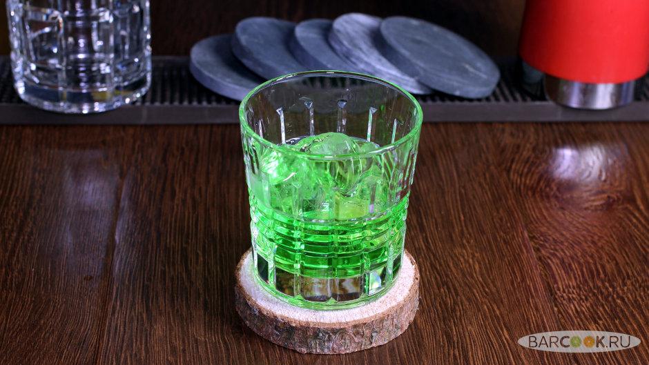 Коктейль Зеленый Русский рецепт