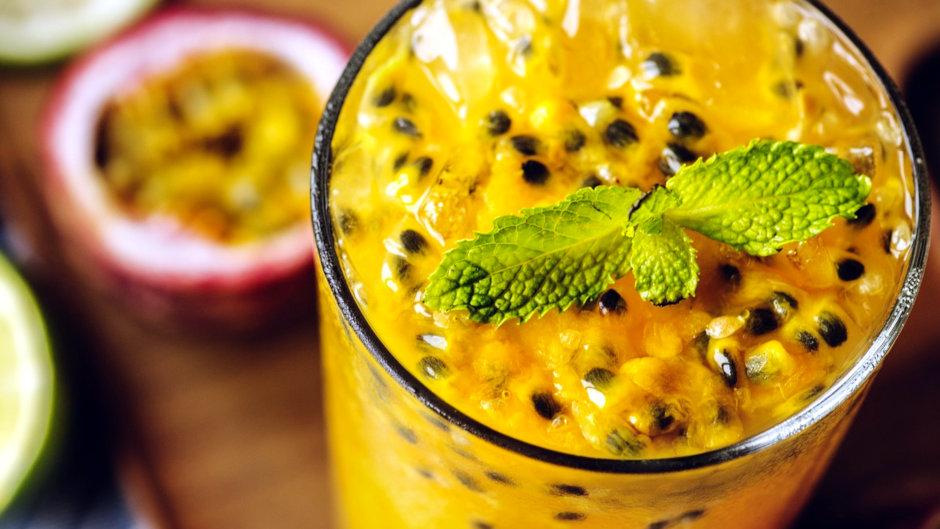 Коктейль мохито с маракуйей рецепт