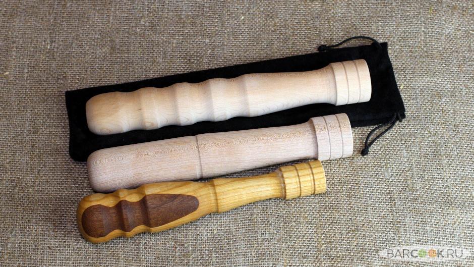 Деревянный мадлер ручной работы