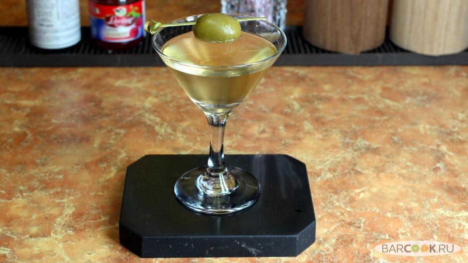 Коктейль Грязный Мартини (Dirty Martini) рецепт