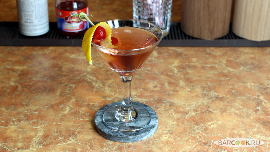 Коктейль Идеальный Мартини (Perfect Martini) рецепт