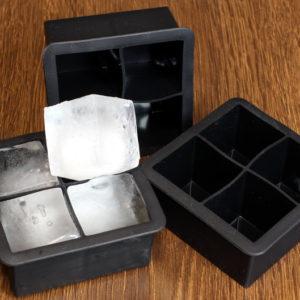 Силиконовая форма для льда в виде большого куба
