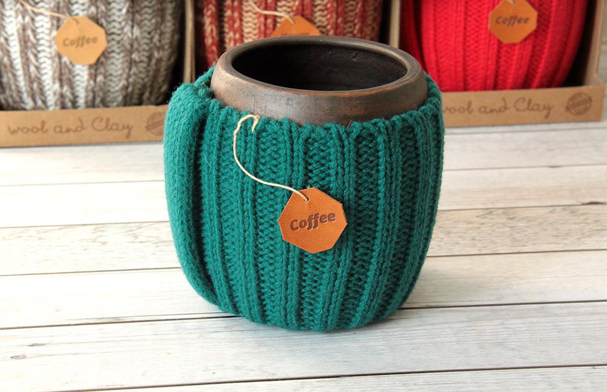 глиняные кружки для чая ручной работы