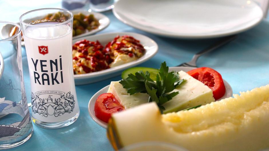 Ракы (Raki) турецкая анисовая водка