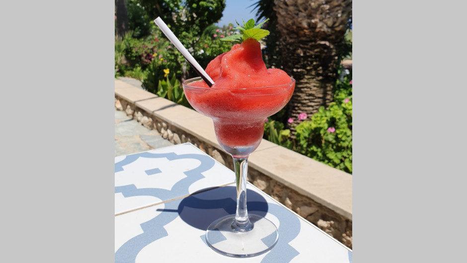Коктейль Клубничная Маргарита (Strawberry Margarita) рецепт