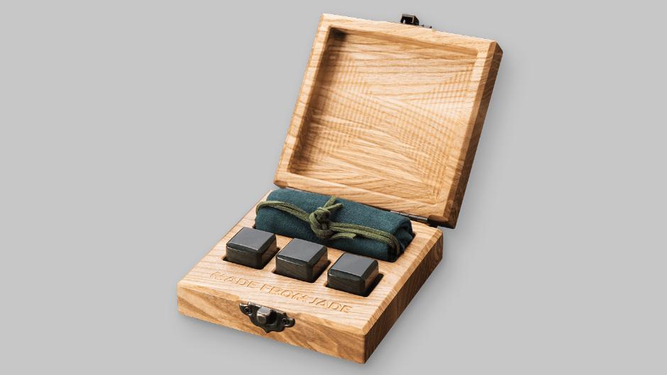Камни для виски из нефрита ручной работы