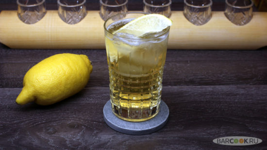 Как приготовить коктейль Джин Бак (Gin Buck)