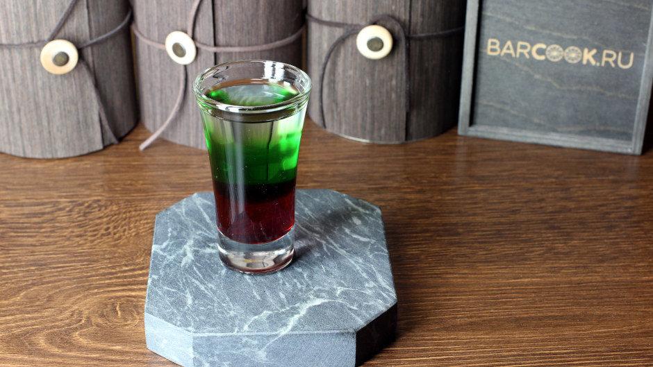 Как приготовить коктейль Флаг Болгарии (Bulgarian Flag) рецепт