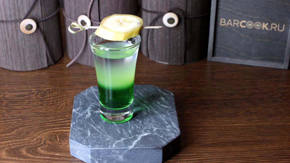 Как приготовить коктейль Зеленый Мексиканец (Green Mexican) рецепт