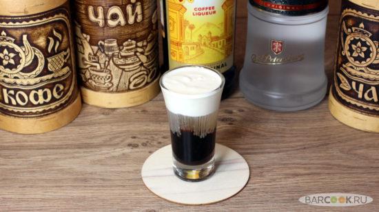 Как приготовить коктейль Белый Русский Шот
