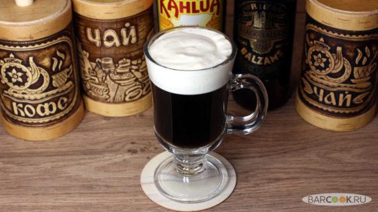Как приготовить коктейль Черный Рижский Кофе