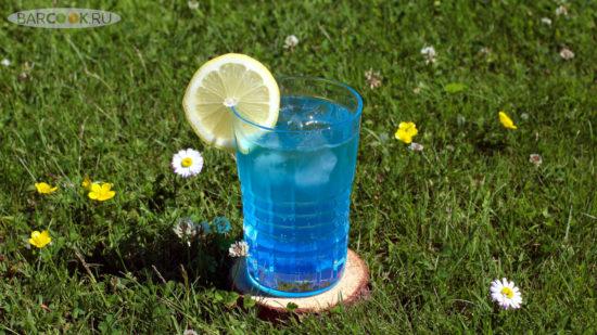 Как приготовить коктейль безалкогольная Голубая Лагуна (Blue Lagoon)