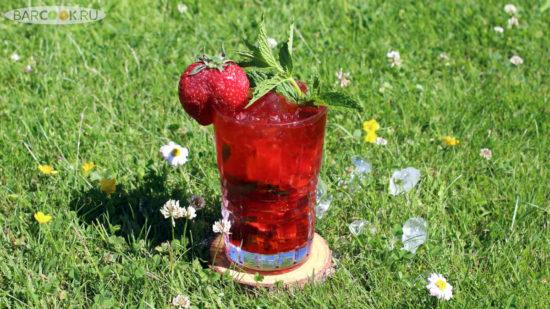 Как приготовить коктейль Мохито клубничный (Strawberry Mojito)