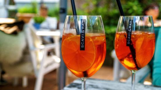 Как приготовить коктейль Апероль Шприц (Aperol Spritz)