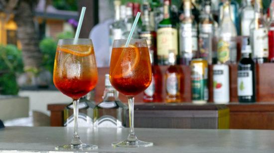 Как приготовить коктейль Кампари Шприц (Campari Spritz)