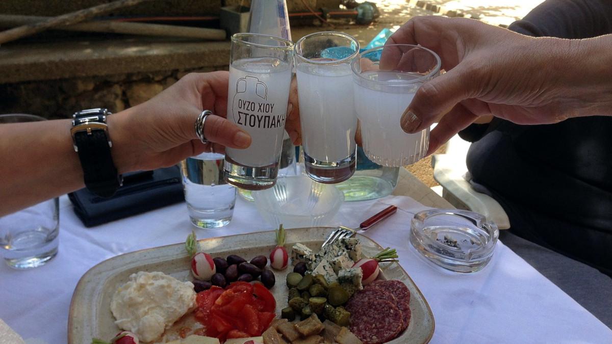 Узо (Ouzo) анисовый напиток из Греции